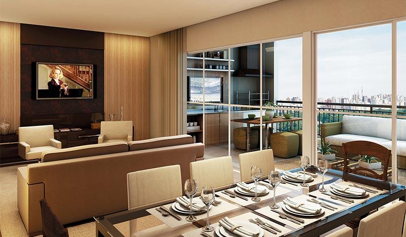 Massimo Residence – Living de 132 m²
