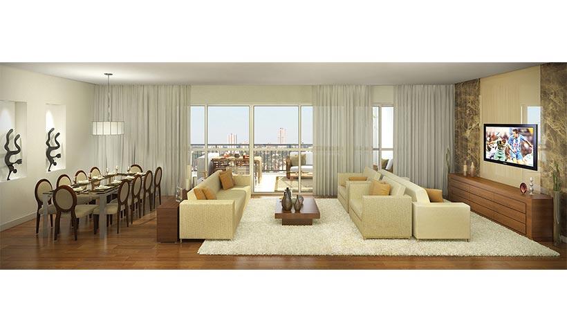 Massimo Residence – Living de 155 m²