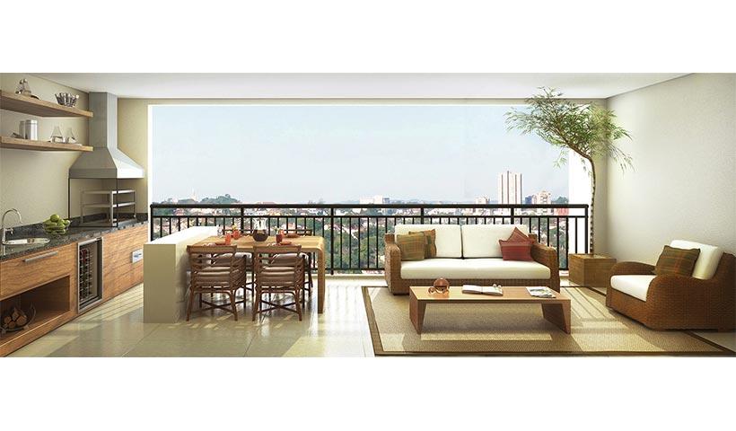 Massimo Residence – Terraço de 155 m²