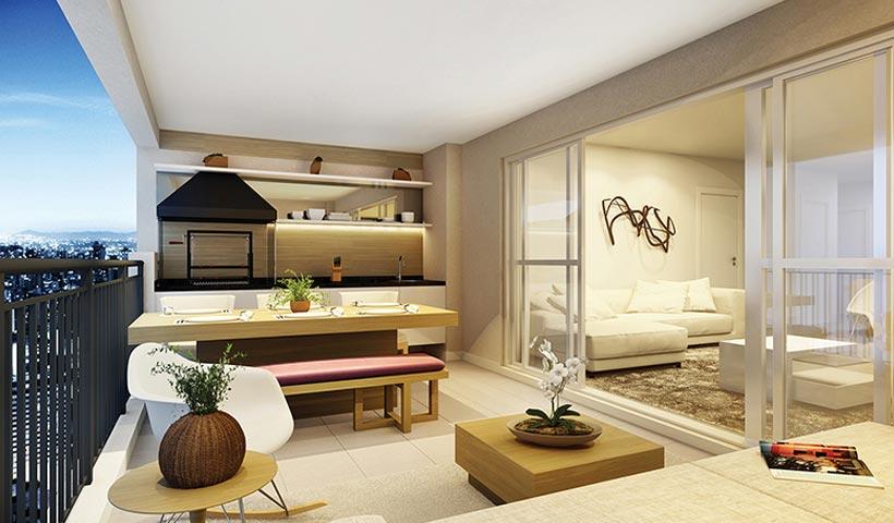 Massimo Vila Mascote – Terraço de 120 m²