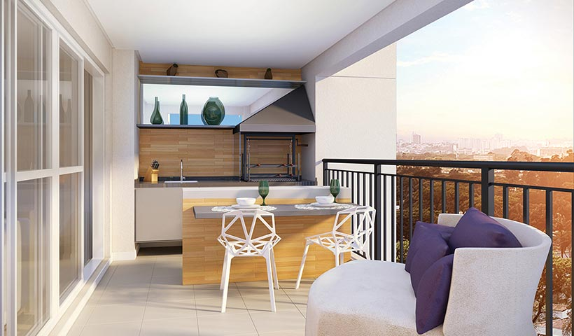 Massimo Vila Mascote – Terraço de 83 m²