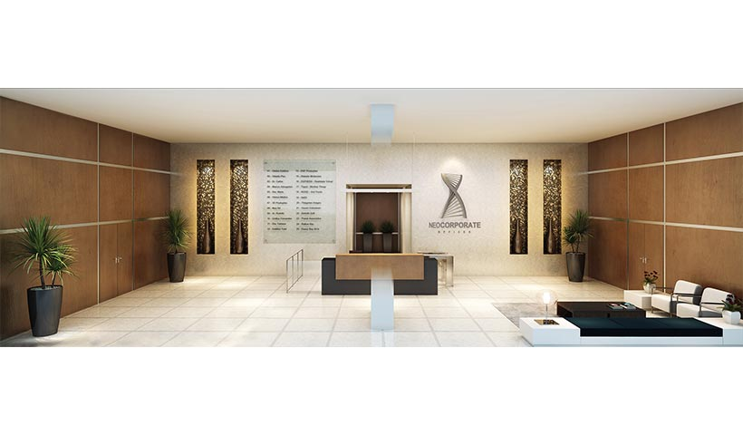 Neocorporate Offices – Lobby
