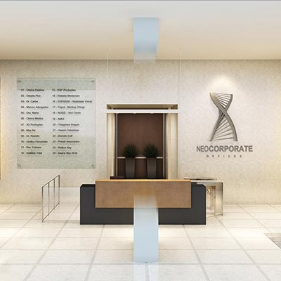 Neocorporate Offices - Lobby