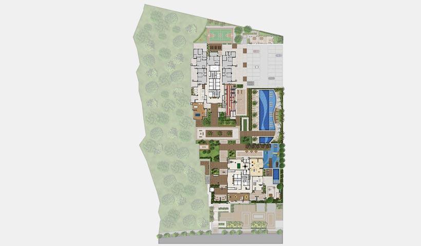 Parque Ventura – Implantação