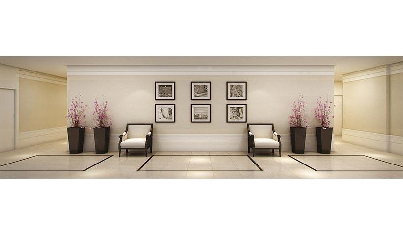 Premiatto Sacomã – Hall dos elevadores