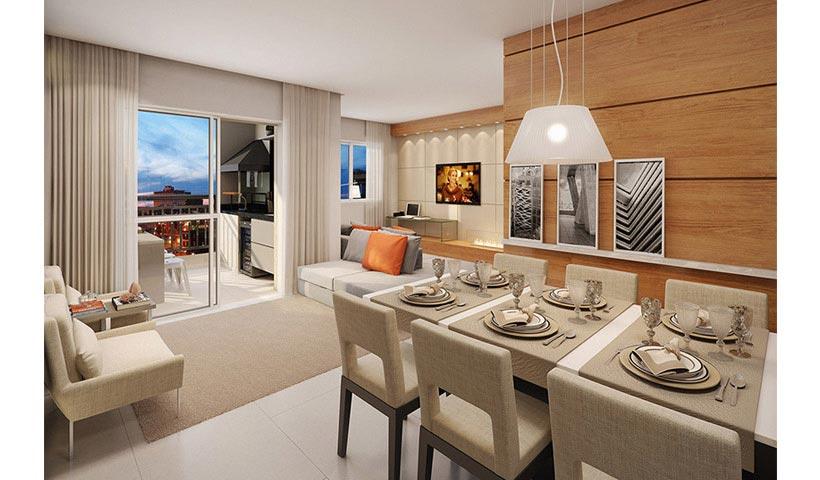 Prime House Parque Bussocaba – Living de 70 m²