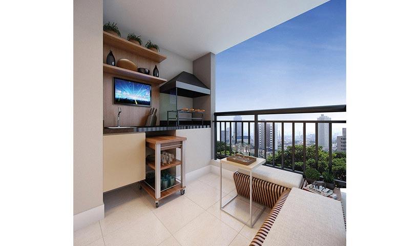 Prime House Parque Bussocaba - Terraço de 53 m²