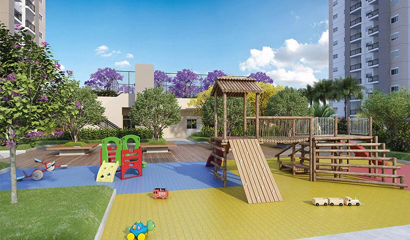 Prime House Parque Bussocaba - Playground