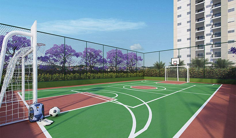 Prime House Parque Bussocaba – Quadra recreativa