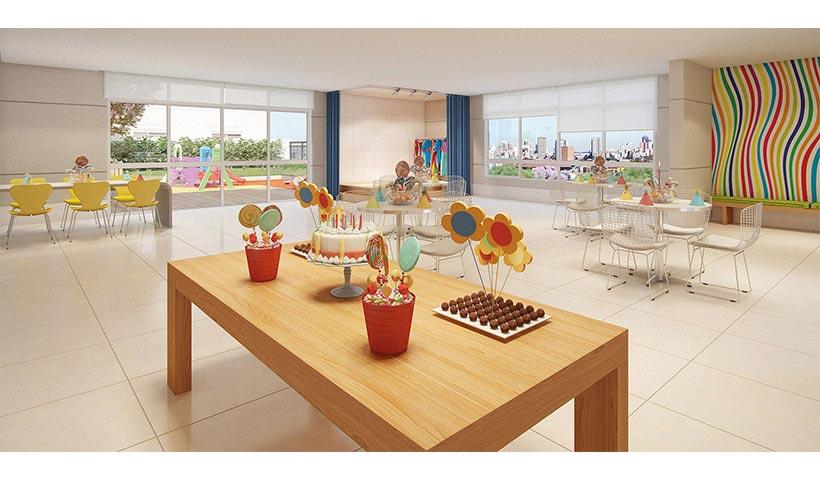 Prime House Parque Bussocaba – Salão de festas infantil