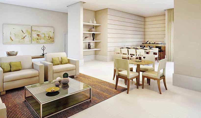 Prime House Sacomã – Salão de festas