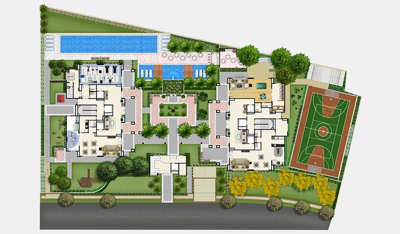 Prime House Vila Mascote – Implantação