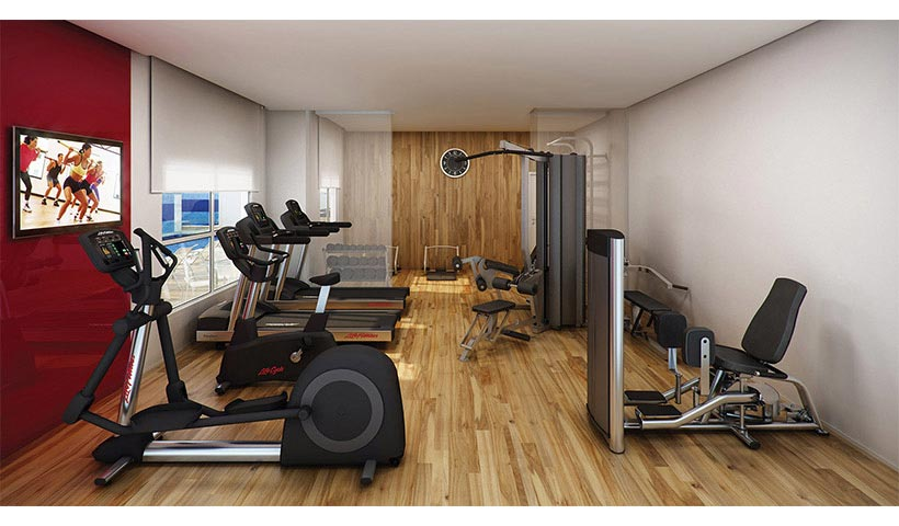 Quality House Ana Costa - Fitness
