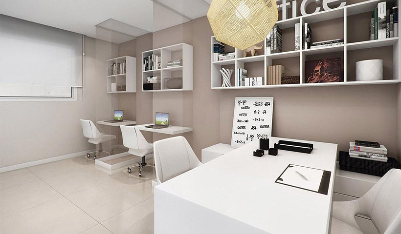 Quality House Ana Costa – Home office