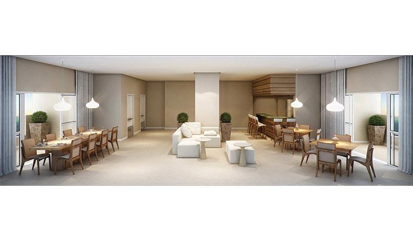 Quality House Ana Costa – Salão de festas