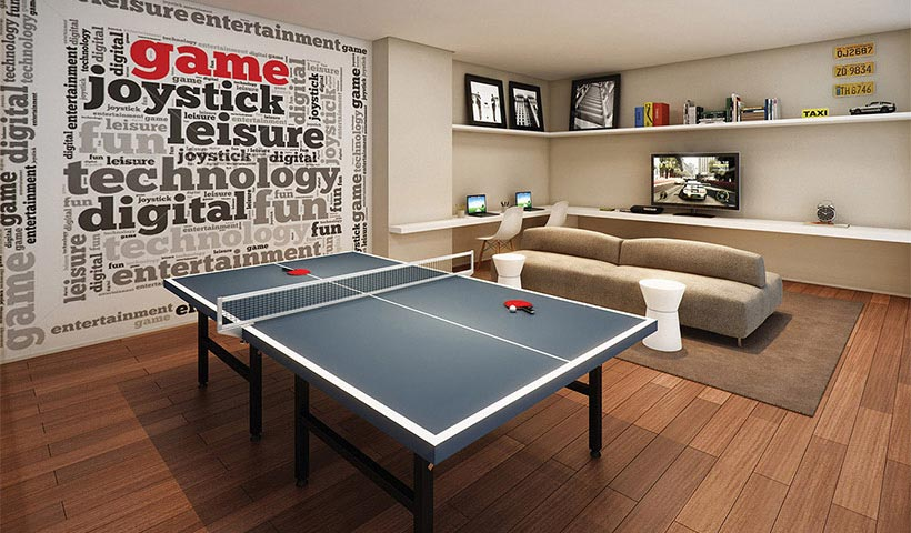 Quality House Ana Costa – Salão de jogos juvenil