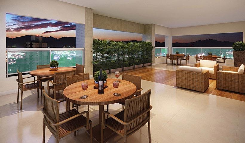 Quality House Ana Costa – Terraço festas