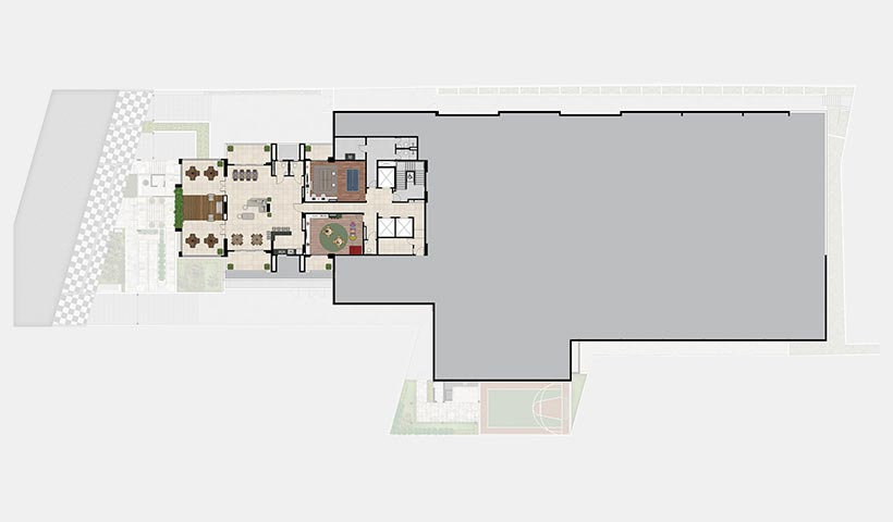 Quality House Ana Costa – Implantação 2º pavimento