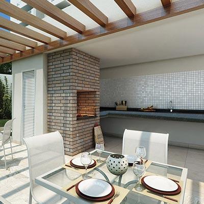 Quality House Ana Costa - Churrasqueira