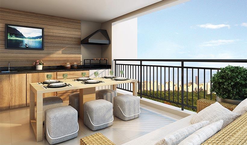 Quality House Sacomã - Terraço
