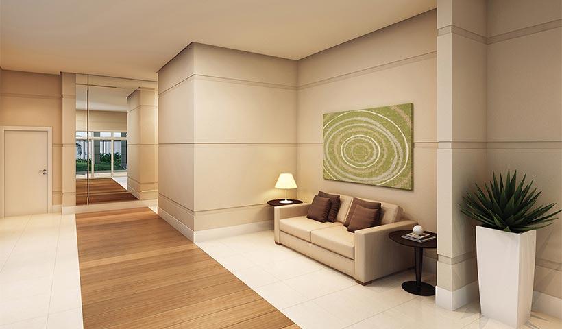 Quality House Sacomã – Hall social