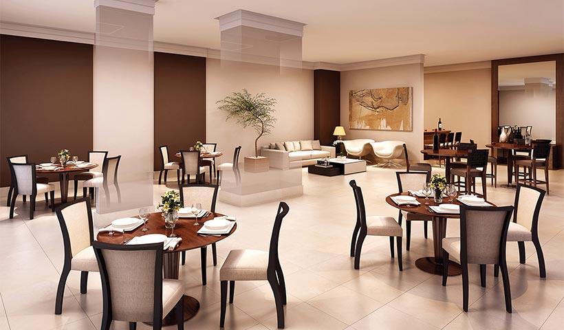 Quality House Sacomã – Salão de festas