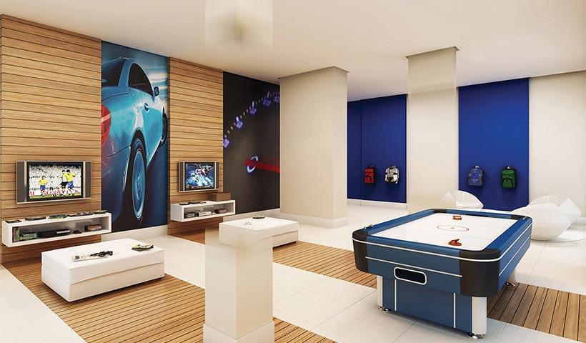 Quality House Sacomã – Salão de jogos juvenil