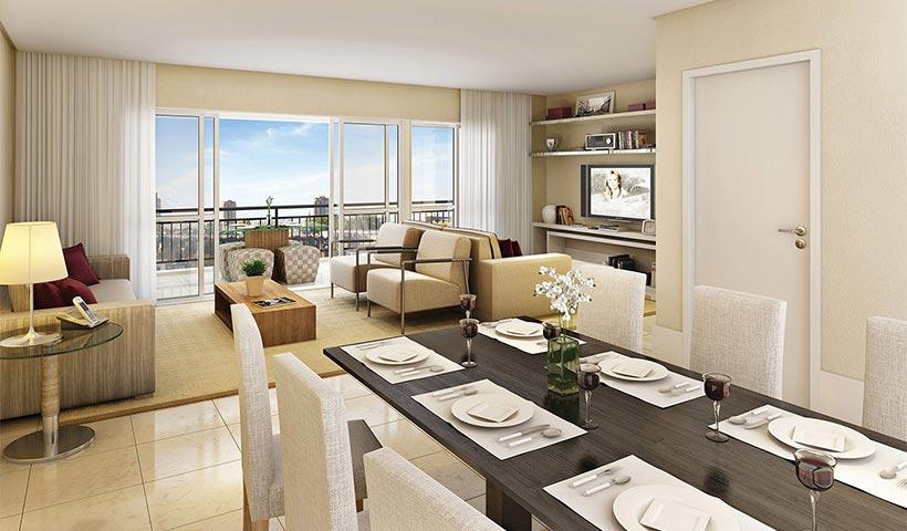 Quinta do Horto – Living de 105 m²