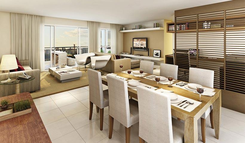 Quinta do Horto – Living de 130 m²