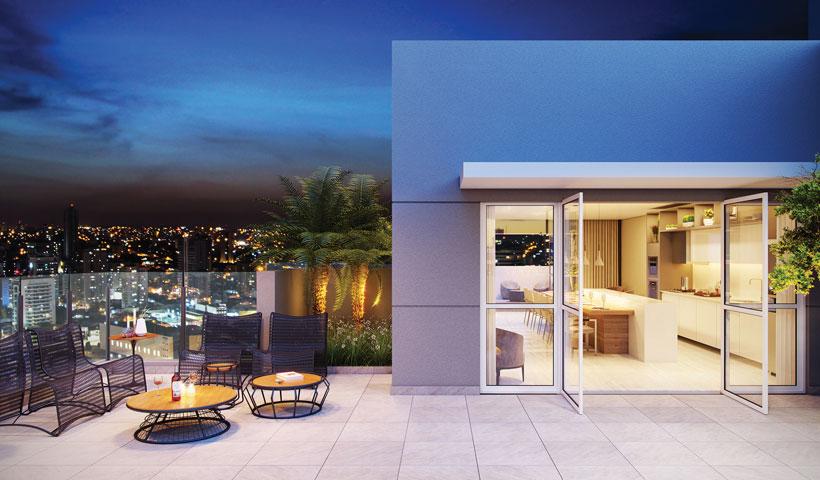 Reserva JB - Estar Rooftop - Torre Sky View