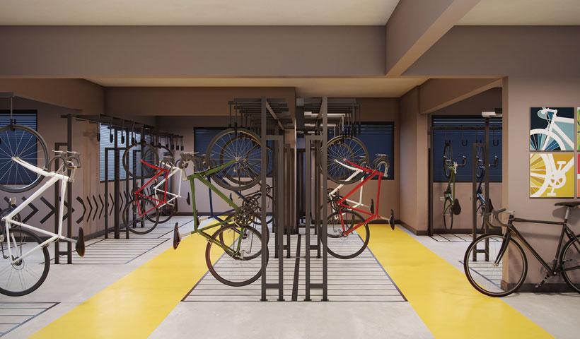 Reserva JB - Bicicletário