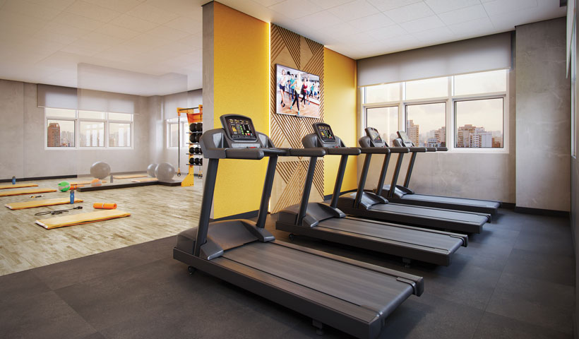 Reserva JB - Fitness Aeróbico - Torre Royal Park