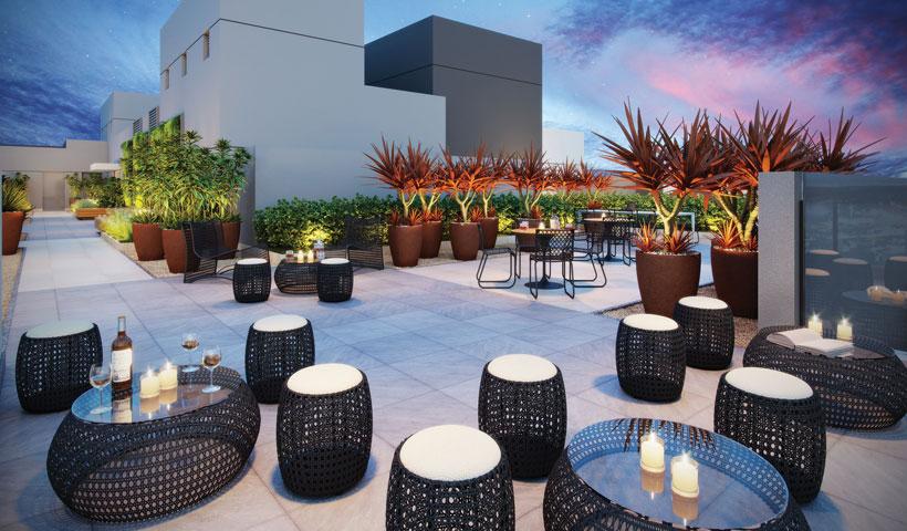 Reserva JB - Lounge rooftop - Torre Sky View
