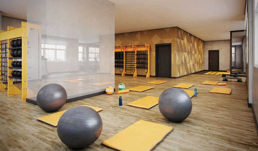 Reserva JB - Sala de Yoga - Torre Royal Park