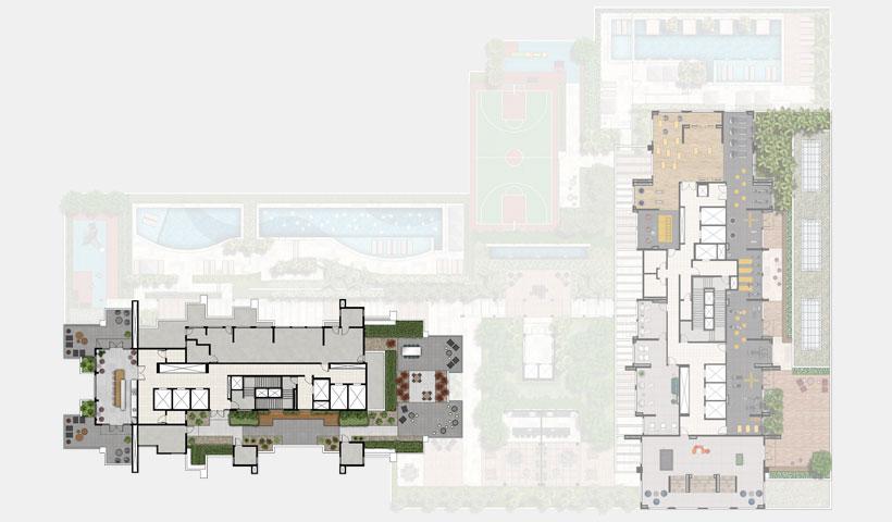 Reserva JB – implantação Rooftop - Torre Sky View