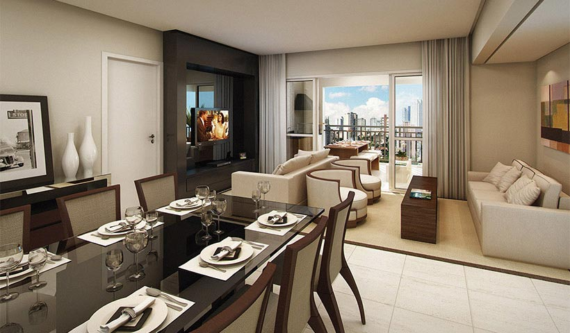 Royale Merit – Living de 126 m²
