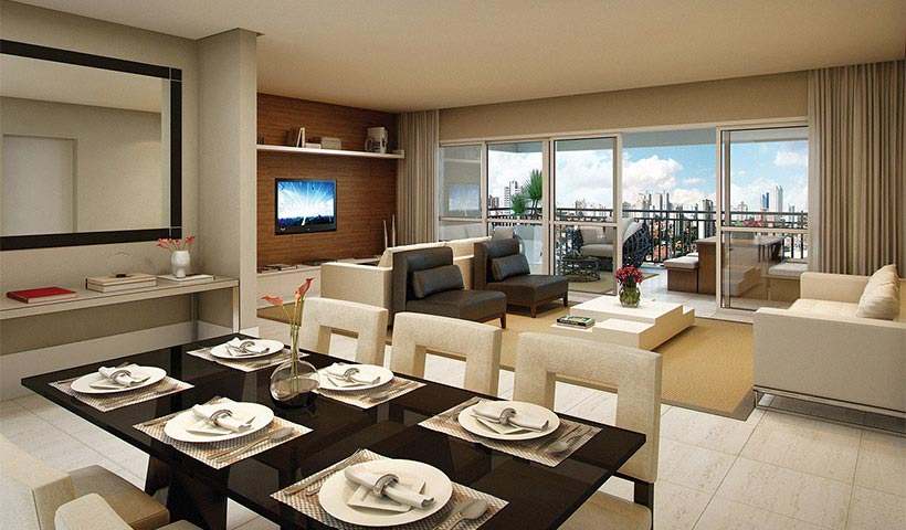 Royale Merit – Living de 162 m²