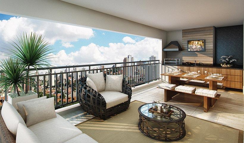 Royale Merit – Terraço de 162 m²