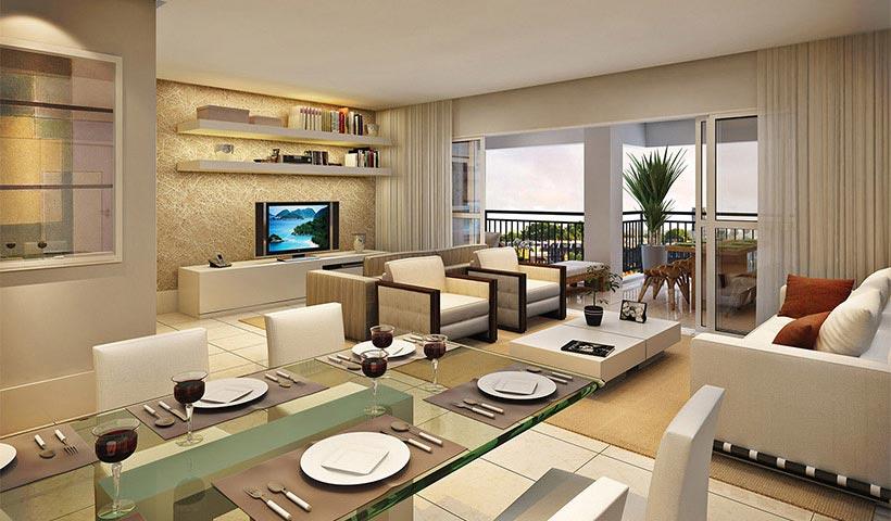 Royale Prestige – Living de 150 m²