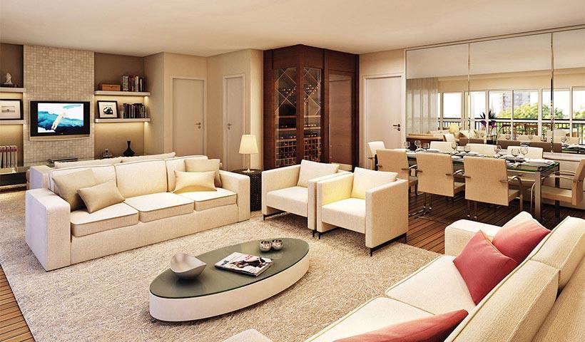 Royale Prestige – Living de 192 m²