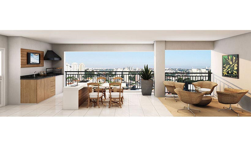 Royale Prestige – Terraço de 192 m²