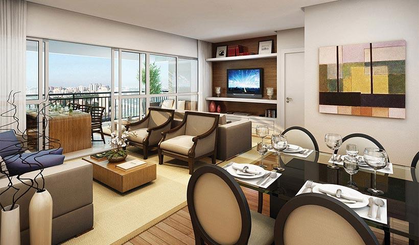 Royale Trésor – Living de 109 m²