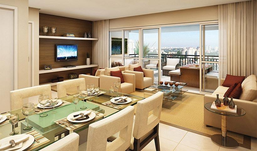 Royale Trésor – Living de 135 m²