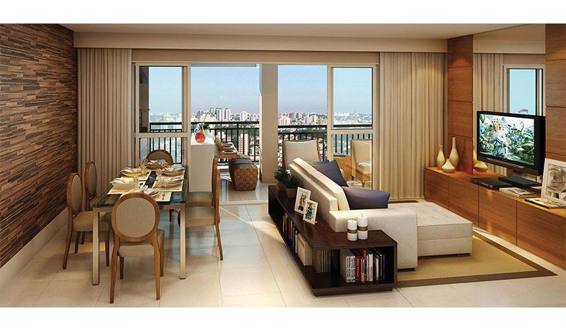 Royale Trésor – Living de 86 m²