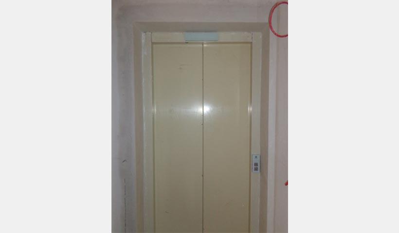 Porta dos elevadores
