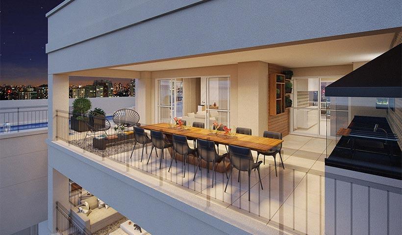 Splendor Ipiranga – Terraço duplex de 330 m²