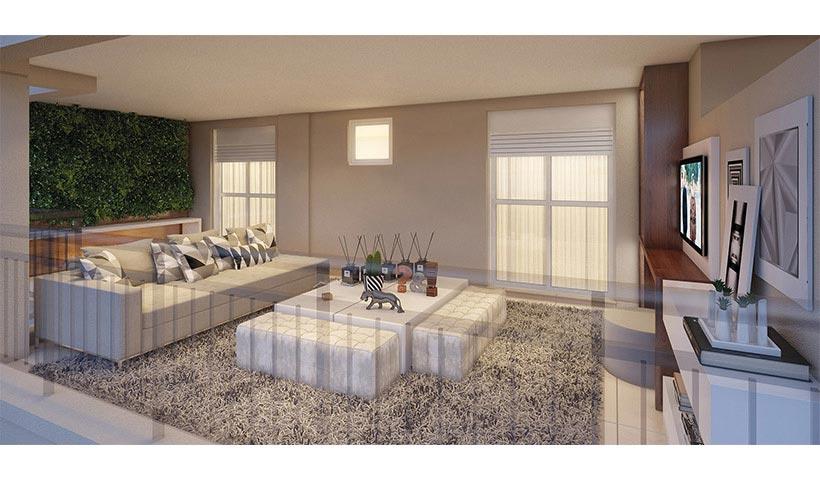Splendor Ipiranga – Terraço duplex inferior de 330 m²