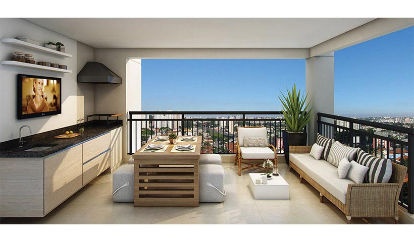 The View – Terraço de 66 m²