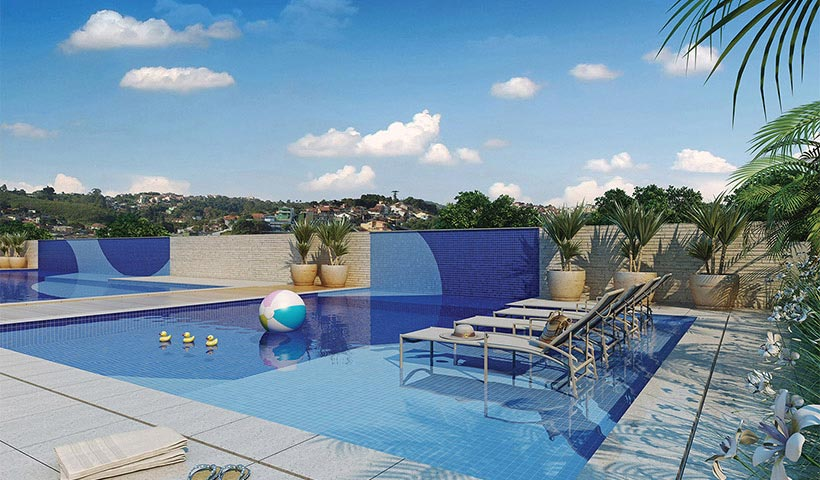 The View – Piscina infantil