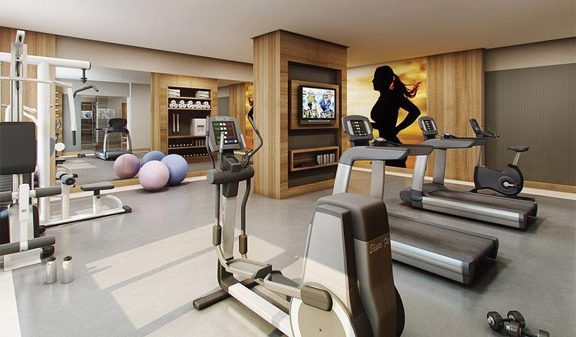 Up Home Vila Carrão - Fitness